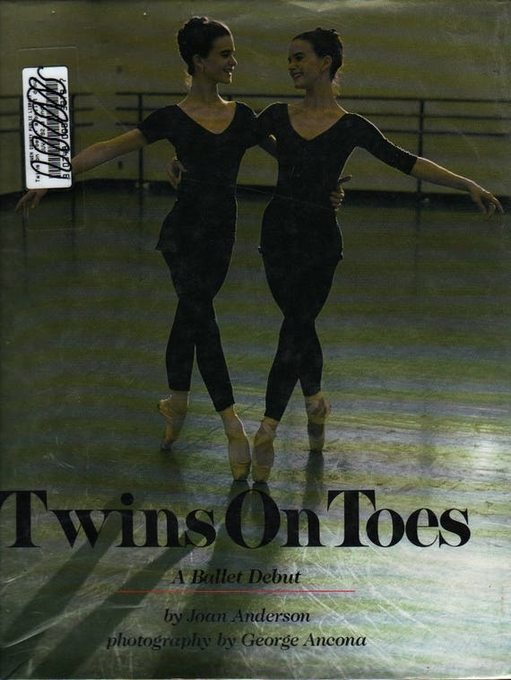 Twins on Toes - First Edition - Joan Anderson - George Ancona, photographer - 1993 - Vintage Kids Book
