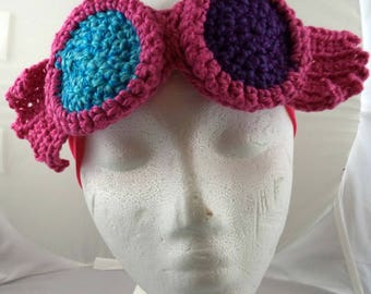 Crocheted Goggles Headband - The Luna (SWG-HH-GGLUNA01)
