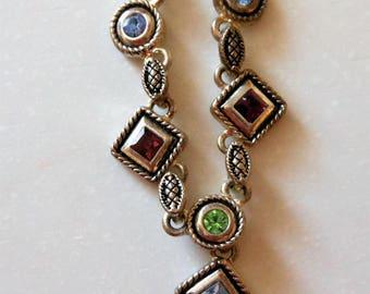 Retired Preimier Jewelry Necklace Jewel tones