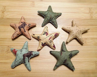 Country Fall  Stars Ornaments Bowl fillers Thanksgiving Decorations