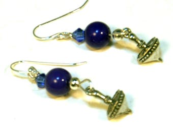 Hanukkah Dreidel Earrings