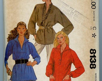 McCall's Pattern 8138 - Lady's Blouse Top