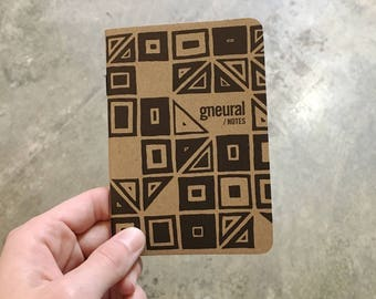 Debbie Clapper - gneural Notes Limited Edition Scout Books Notebook