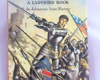 The Story of Henry V 'An Adventure from History  (1963) Ladybird book with dust jacket