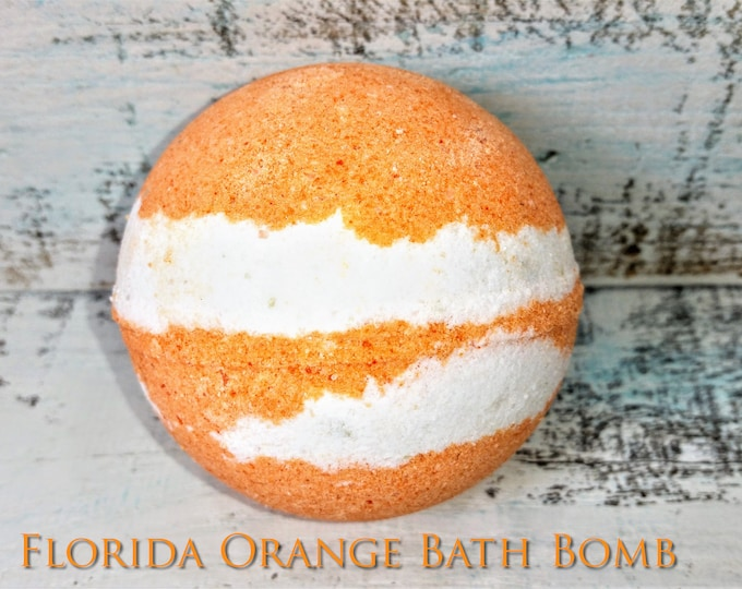 Florida Orange Bath Bomb