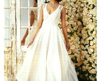 Wedding, Bridesmaid, Prom Dress - Simplicity 8289 - Floor length or knee length dress - Sizes  4 -6 -8 -10 -12 or 12 -14 -16 -18 -20