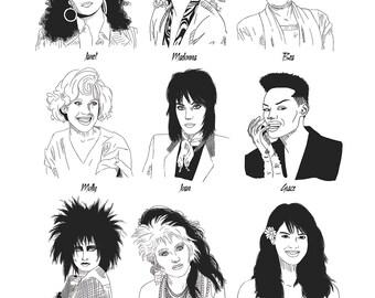 Ladies of the Eighties