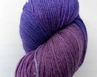 Lorna's Laces Shepherd Sock -  701, Purple Club   - Purple Blurple Blue Fingering Superwash Merino Wool Nylon Yarn