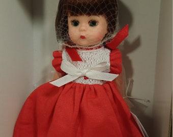 "Madame Alexander Doll ""Red Cherries 33050"""