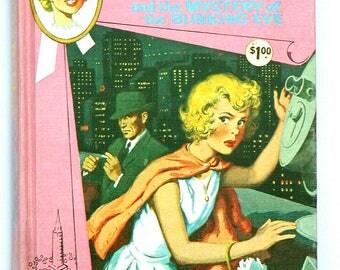 No. 12 TRIXIE BELDEN Mystery of the Blinking Eye 1963 Whitman #2327 Fiction Hardcover Girls Novel Fiction