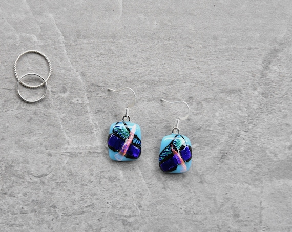 Funky Turquoise Dichroic ...