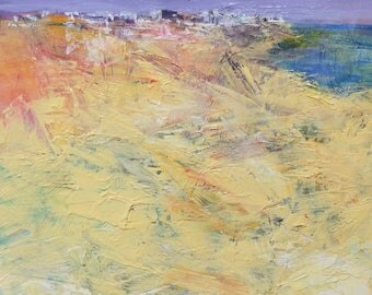 Small Box Painting 1717 - Original Oil Painting - 22.7 cm x 22.7 cm (app. 8.9 inch x 8.9 inch)