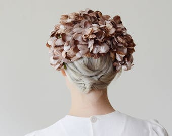 1960s Flower Petal Fascinator