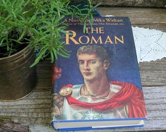 The Roman by Mika Waltari / 1966 Hardcover and Dust-jacket