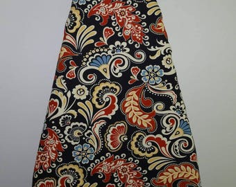 Ironing Board Cover, Navy, Red, Blue, Yellow and Ivory
