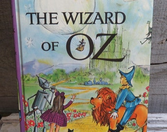 The Wizard Of Oz ~ by L. Frank Baum 1963 Hardcover Companion Library Vintage Book