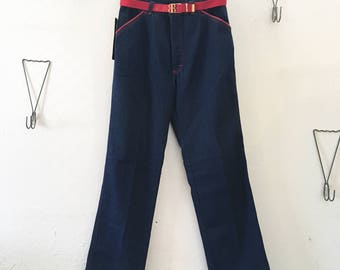 80's Bill Blass Dark Wash Jeans