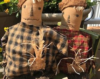 Primitive Scarecrow Doll