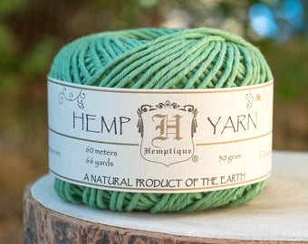 Hemp Cotton Yarn,   Natural  Yarn, Knitting Wool, Hemp Fiber