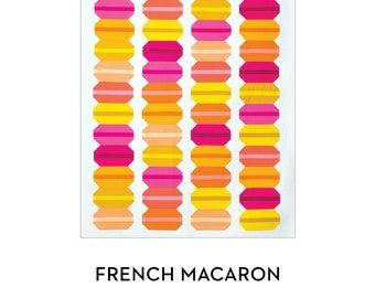 Modern Handcraft French Macaron Quilt Pattern (paper)