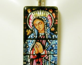 Our Lady of Guadalupe pendant with chain - GP12-438