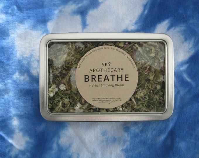 Herbal smoking blend BREATHE wildcrafted handblended