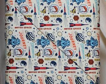 Fabric by Riley Blake Designs: Rocket Age Cream