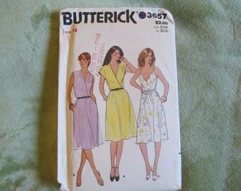 Uncut Butterick Dress Pattern, Size 14