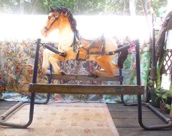 Vintage Bouncy Horse