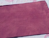Hand dyed wool fabric - medium purple wool - rug hooking - applique and crafts - primitive crafting - quilting - sewing - needle arts - 08