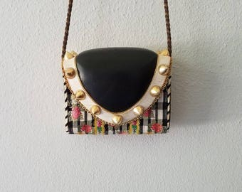 HELENE ANGELI Vintage French Haute COUTURE Handbag
