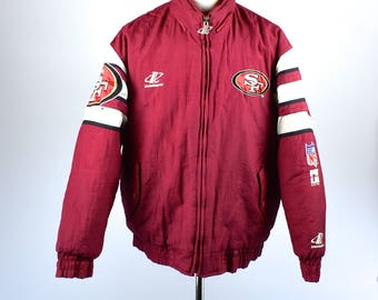 San Francisco 49ers Puffy Jacket, Proline by Logo Athletic, Size Large