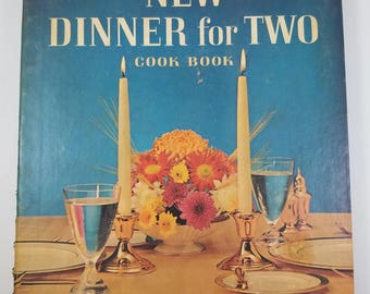 Betty Crocker's New Dinner for Two Cookbook First Edition 8th Printing 1964 Copyright