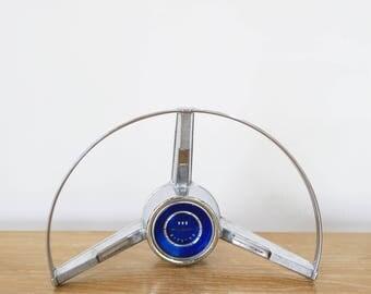 Vintage Chrome Galaxie 500 Steering Wheel