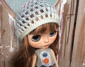 Blythe crochet beany hat
