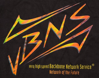 vBNS MCI T-shirt, Very High Speed Backbone Network Service, Vintage 90s, Future Internet Connection, Computing Technology, Techie Geek, L/XL