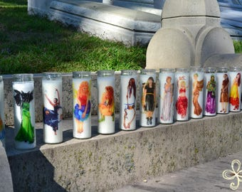 Multiple Prayer Candles