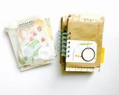 List Journal . 30 Lists September #30lists .  30 Days of Lists . Mixed Media Smashbook Mini Album Scrapbook Notebook . Spiral Bound Book