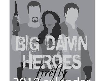 Firefly CD desktop calendar 2017
