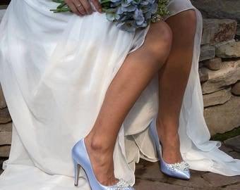 Wedding Shoes, Womens Bridal Shoes , Shoes, Wedding Heels, Womans Classic Closed Toe Wedding Shoes, Wedding Bridal Shoes, PBP3.5