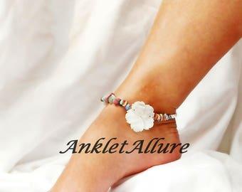 Anklet Beach Ankle Bracelet Shell Anklet Stone Ankle Bracelet GUARANTEED Anklet for Women