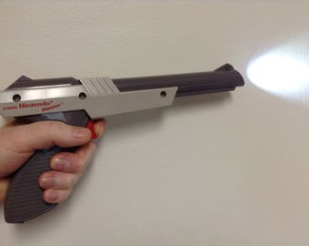Nintendo NES Zapper Flash Light, USB Rechargeable, USB Cord Included