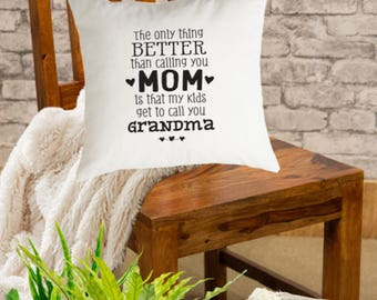The Only Thing Better Decorative Throw Pillow