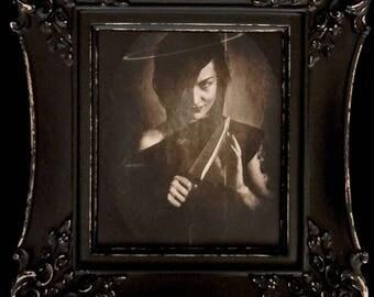 Twin II Dark Art Photography Macabre Original Art By Artist Gothic Fine Art