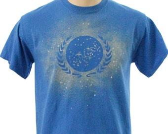 Federation Bleach Dye Tee Shirt
