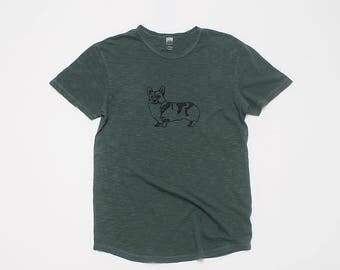 Corgi Shirt, Gift for a Guy, Corgi Tee, Workout Tee, S-2XL