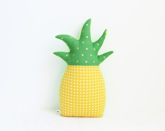 Pineapple pillow, tropical nursery decor, tropical decor, pineapple decor, dorm decor, nursery decor, pineapple nursery, baby shower gift