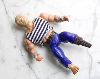 Vintage 1980s Remco Pirates Of The Galaxseas Peg Leg | 1983 Rare Cyclops Action Figure