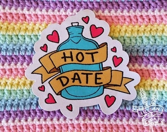 Hot Date Spoonie Patch - Chronic Illness and Pain