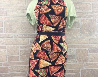 Pizza apron, Pizza lover apron, Pizzas apron, hostess apron, novelty apron